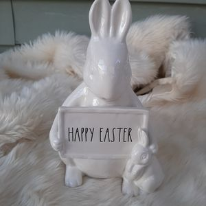 Rae Dunn Easter Bunny Decor...NEW...Brand New.